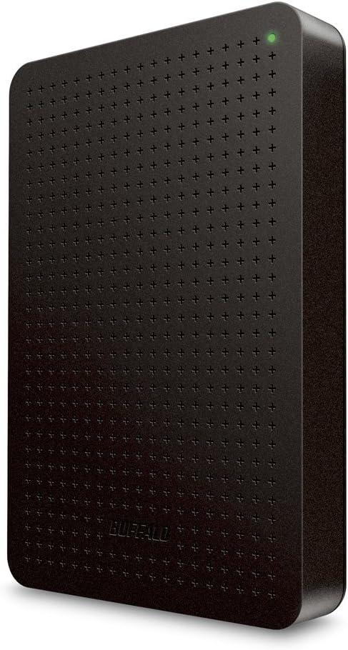 BUFFALO ミニステーション ターボPC EX2対応 USB3.0ポータブルHDD 1TB ブラック HD-PLF1.0U3-BB