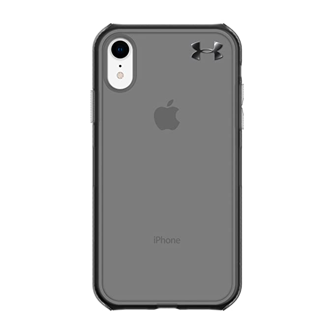 size 40 b5bcf 76406 Under Armour Phone Case | for Apple iPhone XR | Under Armour UA Protect  Verge Case with Rugged Design and Drop Protection - Translucent ...
