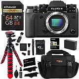 Fujifilm X-T2 Mirrorless Digital Camera (Body Only), Polaroid 64GB, Memory Card Wallet, Ritz Gear Bag, Tripod, Spare Battery and Accessory Bundle
