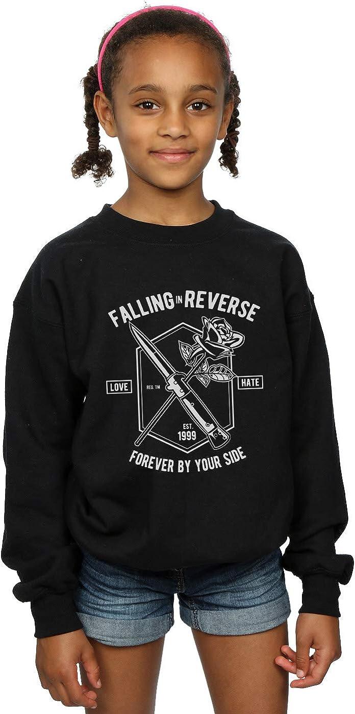 Drewbacca Girls Falling in Reverse Sweatshirt