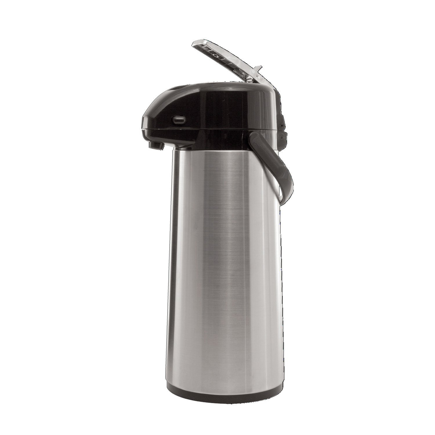 Service Ideas AYS30S Economy Airpot with Lever 3 L Stainless Steel Lined