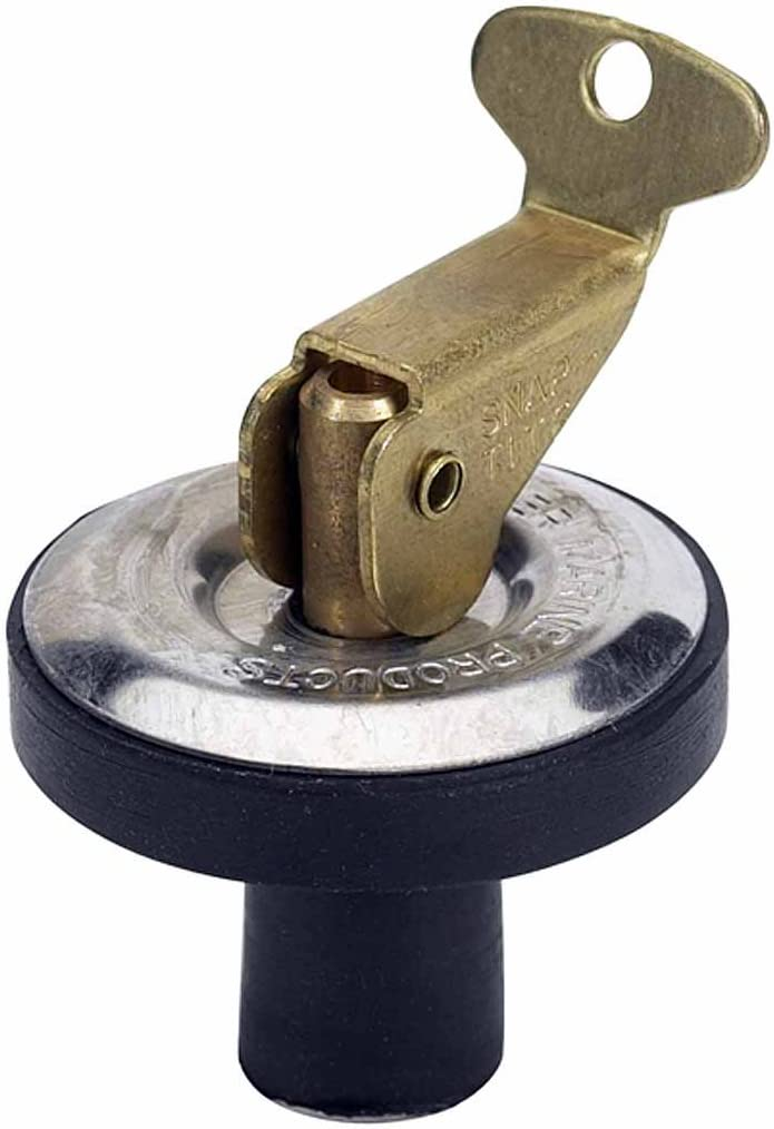 """Moeller Boat Deck and Baitwell Plug (7/16"""")"""