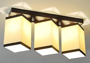 Design rétro plafond lampe bureau hotel power plafonnier à led e