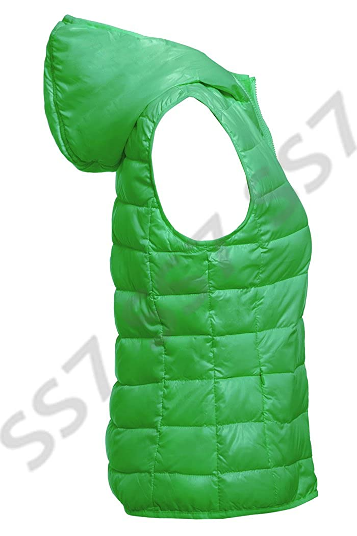 Size 8-16 SS7 New Womens Quilted Bodywarmer Gilet
