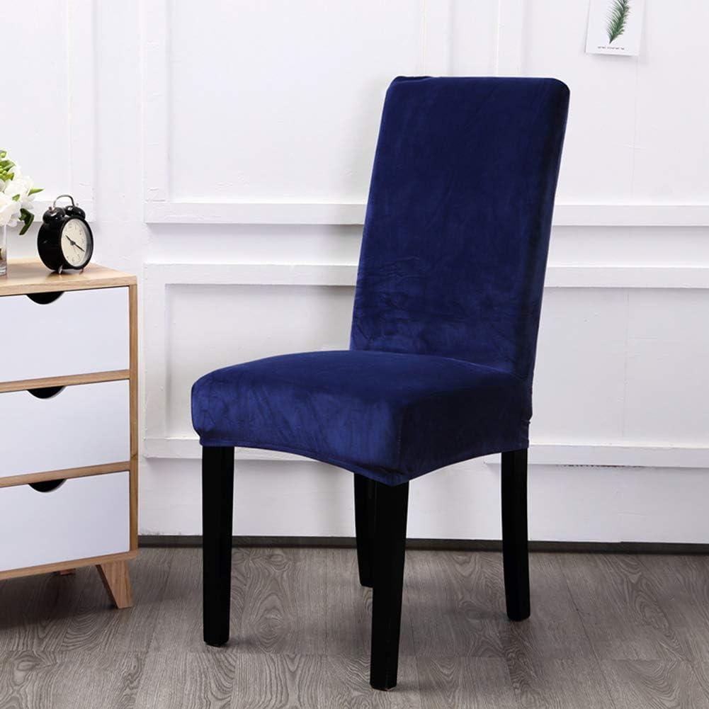 Bili Housse de Chaise de Maison A, 2 st/ück Housses pour Chaise Haute Style Moderne en Spandex 4 /à 6 Housses Universelle D/écoration
