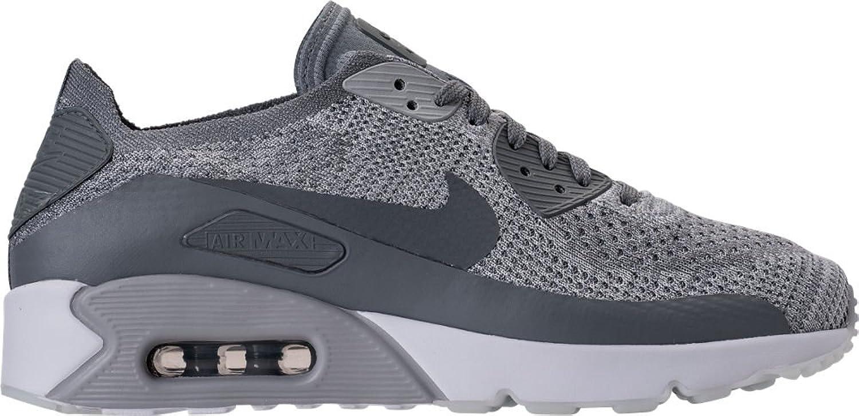 ナイキ シューズ スニーカー Men's Nike Air Max 90 Ultra 2.0 Flyknit Pure Plati 1y6 [並行輸入品] B07572YH56