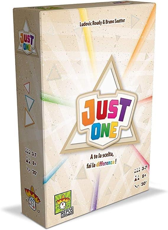 Asmodee Italia Just One juego de mesa, Color Amarillo, 8645, versión italiana: Amazon.es: Juguetes y juegos