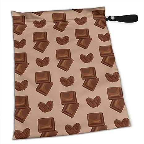 NIAOBUDAI Deliciosas bolsas de pañales de chocolate con ...