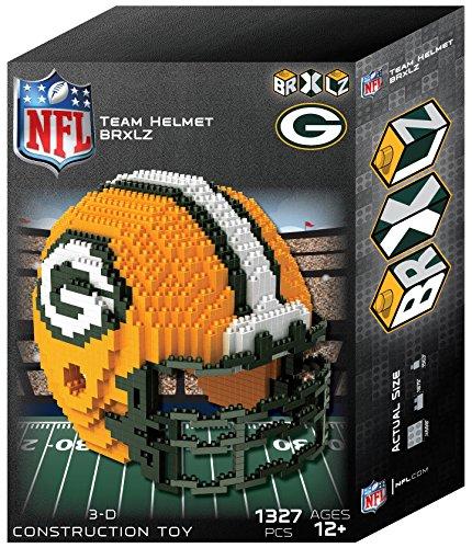 FOCO NFL 3D BRXLZ Construction Toy Blocks Set – Helmet