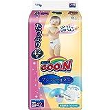 GOO.N 大王 棉花糖系列 纸尿裤 增量装 加大号XL42片(适合12-20kg ) (日本原装进口,超薄透气)(新老包装 随机发货)