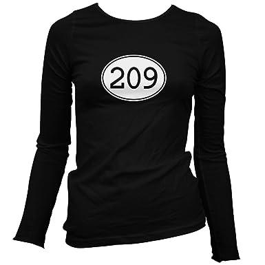 Amazoncom Smash Vintage Womens Area Code Stockton Long - Where is area code 209
