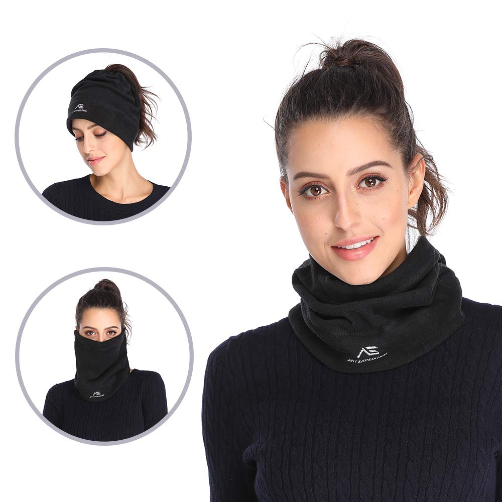1deb05723c6 ANT EXPEDITION 2 Pack Fleece Neck Warmer Gaiter Windproof Face Mask ...
