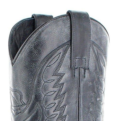 Negro westernstiefel 13170 boots Grigio Sendra bottes F8xSvqwf