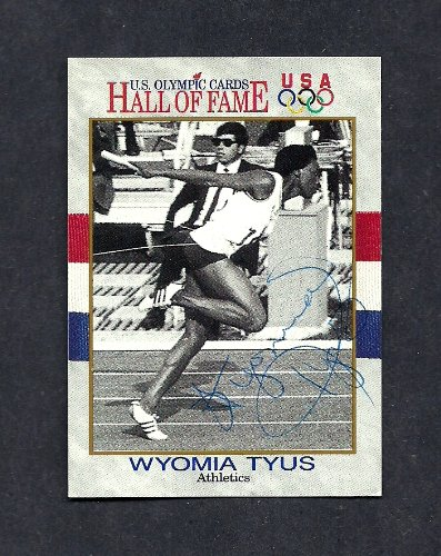 Wyomia Tyus Autographed Signed 1991 Olympic Impel Card #26 - COA - EX-MT Condition - (Guaranteed Authentic)