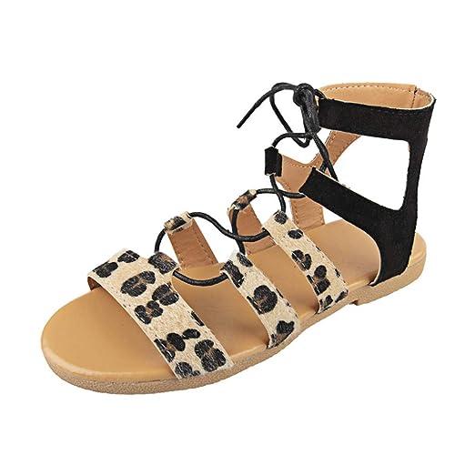328fb25325785 Amazon.com: Memela Clearance sale Women Flat Sandals Ankle Buckle ...