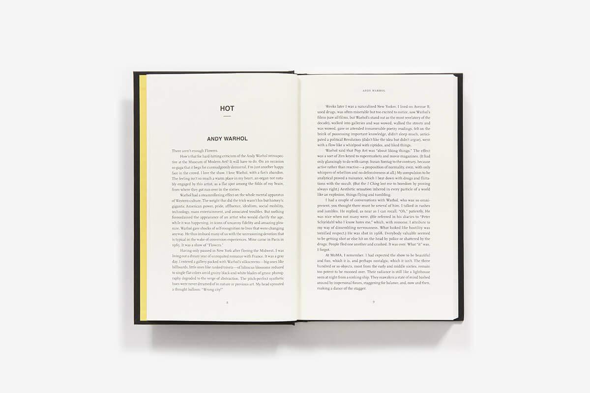 Hot, Cold, Heavy, Light, 100 Art Writings 1988-2018: Peter