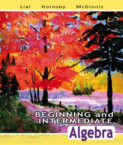 Beginning and Intermediate Algebra Value Pack (includes MathXL 12-month Student Access Kit & Video Lectures on CD wi