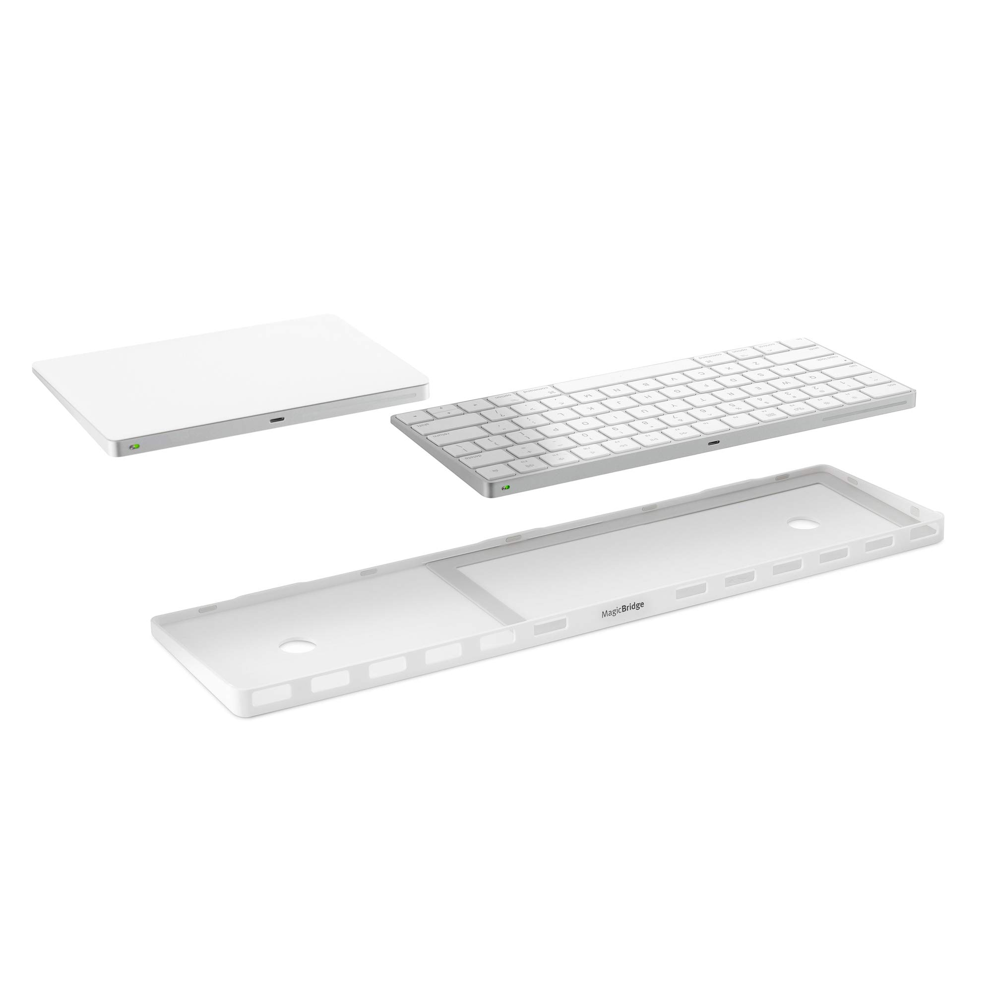 Twelve South MagicBridge | Connects Apple Magic Trackpad 2 to Apple Wireless Keyboard - Trackpad and Keyboard not Included
