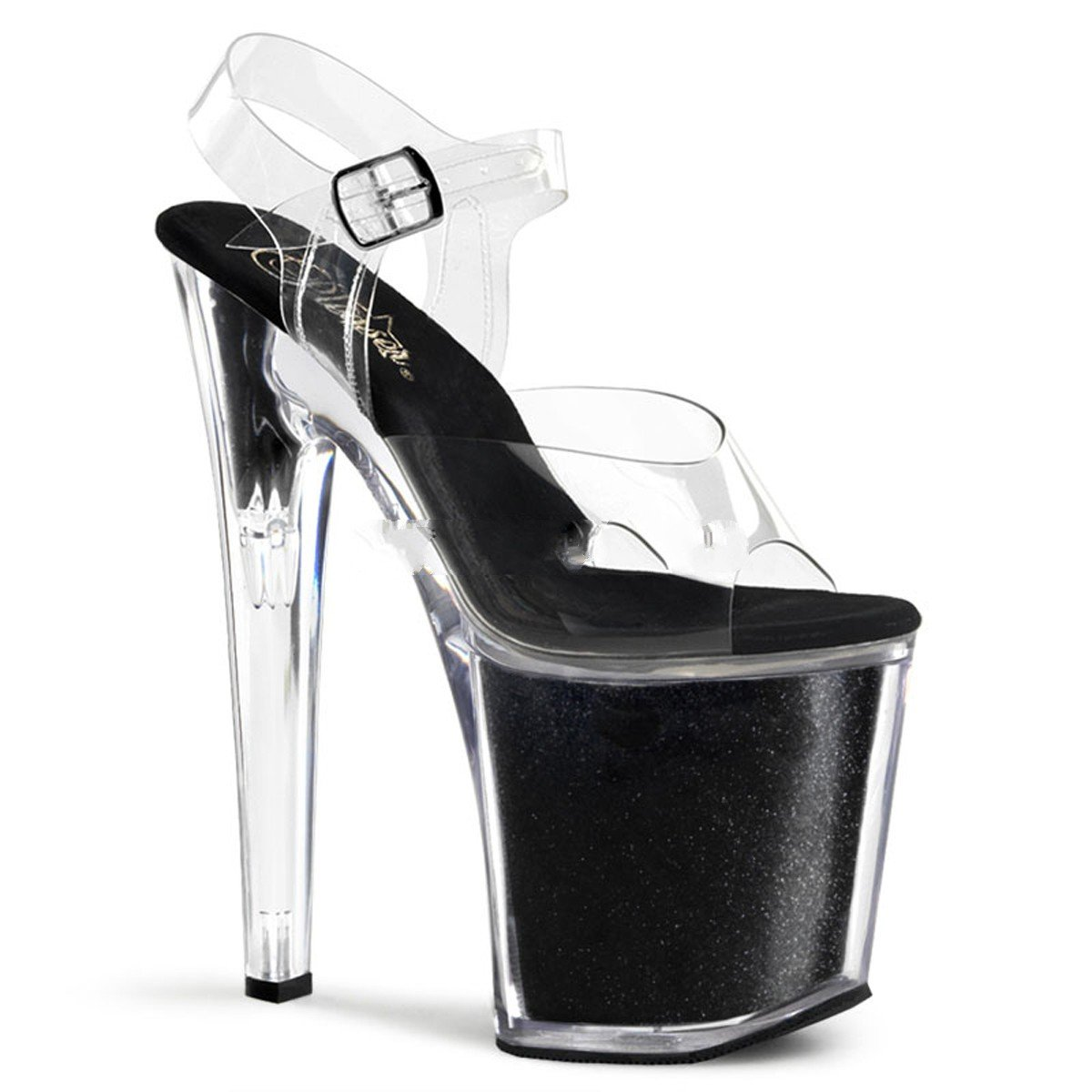 Pleaser Xtreme-808G - Sexy High Heels Extrem Plateau Sandaletten Sandaletten Sandaletten 35-45 Größe EU-39   US-9   UK-6 d547ed