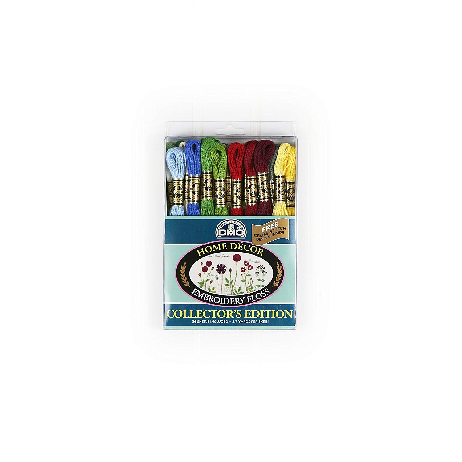 DMC Embroidery Floss Pack 8.7yd, Home Decor 36/Pkg (Limited Edition) by DMC