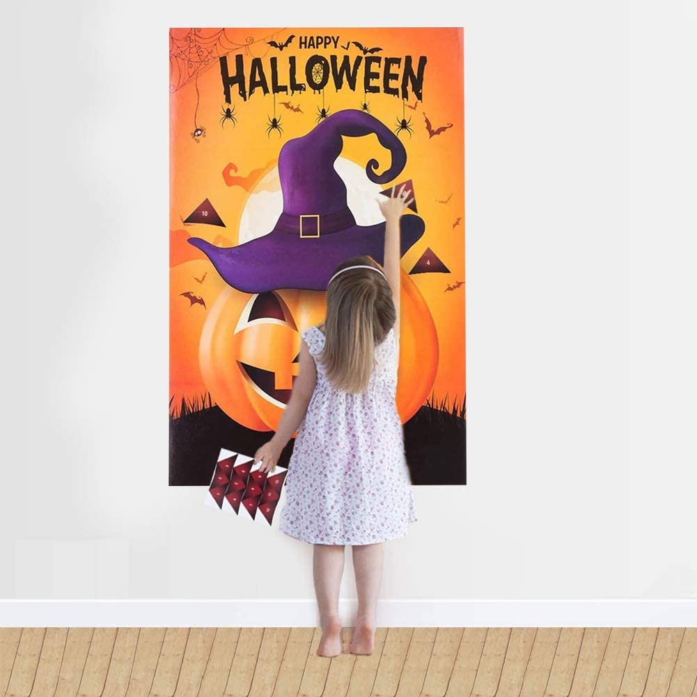 Halloween Party Game Set BESTZY Halloween Party Supplies Pin The ...
