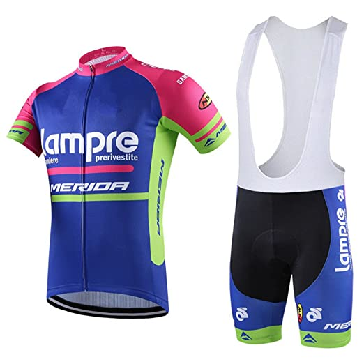 ff55da94b Image Unavailable. Image not available for. Color  HnjPama Pro Team Unisex Cycling  Jersey Set Bib Shorts ...