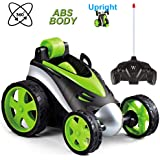 RC Stunt Car Toys for Kids, 360 Degree Rolling Remote Control Car Four Wheel Racing Vehicle High Speed Rotating Tumbling Truck Remote Stunt Car Toys Gift