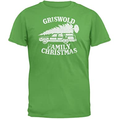 Amazon.com: Christmas Vacation - Griswold Family Christmas T-Shirt ...