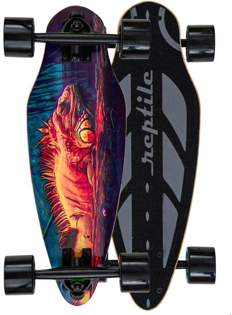boo/G Mini Cruiser Skateboard für Kinder und Erwachsene. Die Kurven Stars mit Breiten Longboard Achsen (7 Zoll). Klein, leicht, Supercool. 11 Farben wählbar kaufen