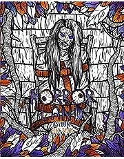 Adult Coloring Book Horror Land: Asylum (Book 6)