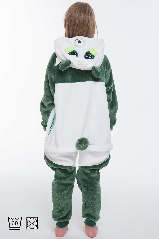 Turchese Jade Unicorno Costume Bambini Tuta Kigurumi Animale Pigiama Intero, 5+ designs corimori 1851 130-150 cm
