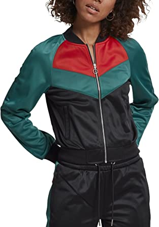Urban Classics Ladies Short Raglan Track Jacket Chaqueta ...