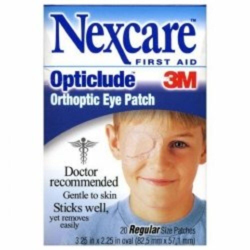3M Orthoptic Eye Patch Nexcare Opticlude Regular Adhesive #1539