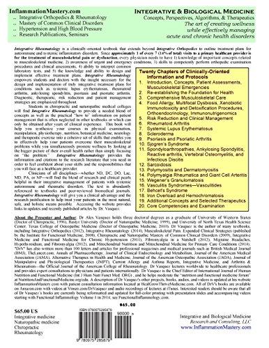 Integrative Rheumatology: Second Edition