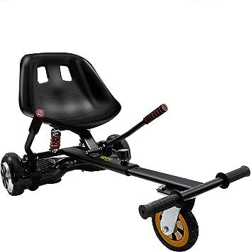 Amazon.com: Hiboy HC-02 Hoverboard Go Kart con suspensión ...