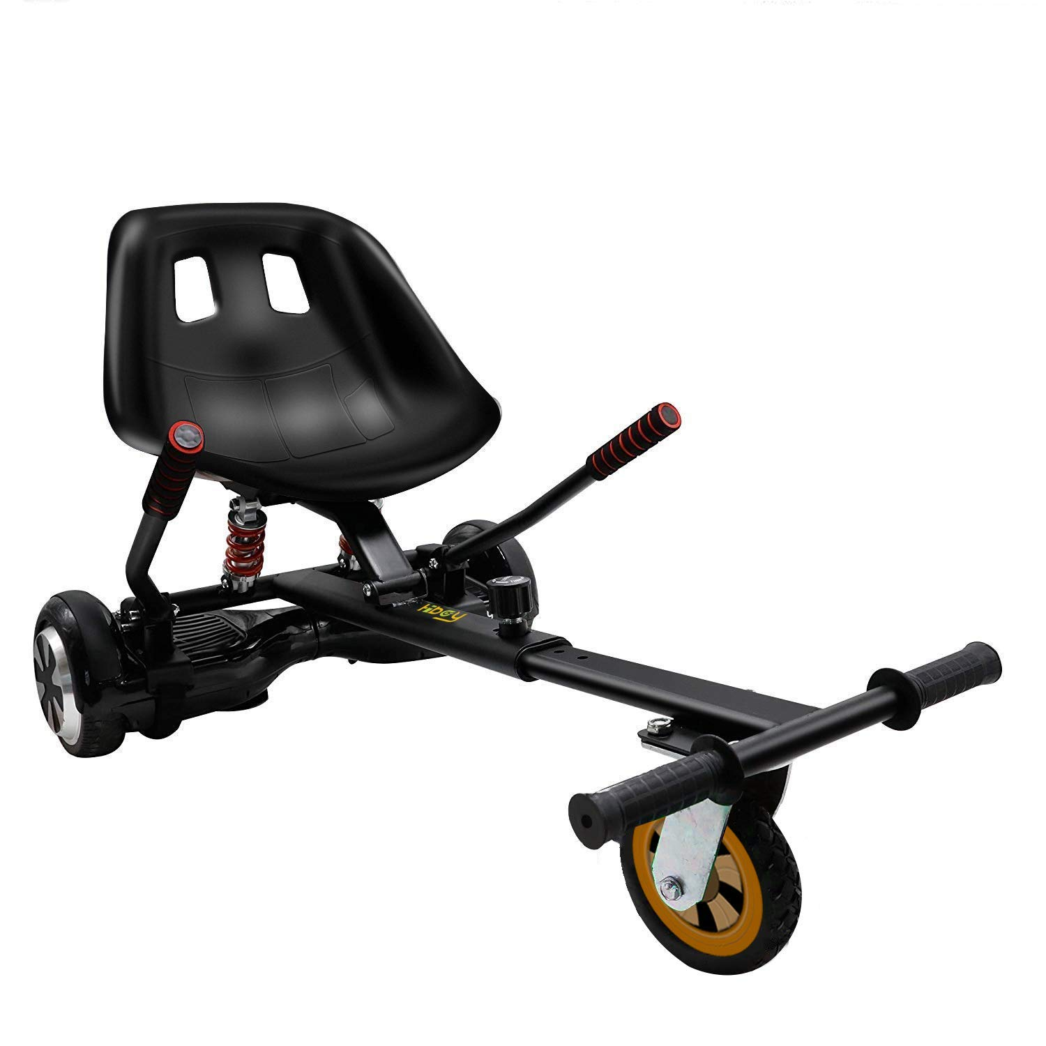 Hiboy HC-02 Hoverboard Seat Attachment with Rear Suspension Go Kart Accessory for 6.5'' 8'' 10'' Two Wheel Self Balancing Scooter by Hiboy