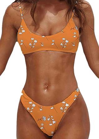 Amazon.com: Psunrise Traje De Baño Bikinis Set for Women ...