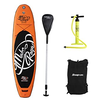 Profesional hinchable Adventurer 300 cm Stand Up Paddle Board tabla de surf modelo remos mochila bomba de aire Pack de 4: Amazon.es: Deportes y aire libre