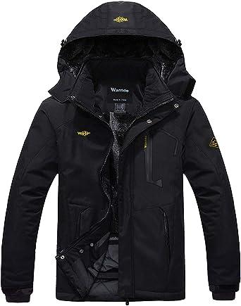 LIKESIDE Mens Autumn Winter Pure Color Pocket Open Zipper Hooded Jacket Top Coat