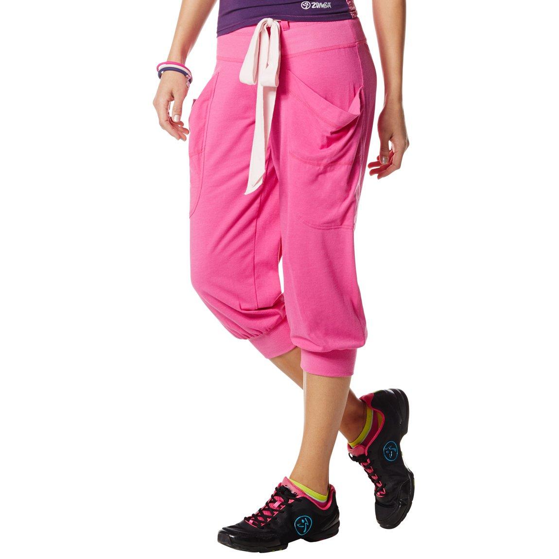 Zumba Fitness® Hose Capri Pants - Pantalones pirata de fitness para mujer, color rosa, talla L: Amazon.es: Deportes y aire libre