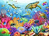 Ravensburger Tropical Waters 500 Piece Jigsaw Puzzle for Adults – Every Piece is Unique, Softclick Technology Means Pieces Fit Together Perfectly