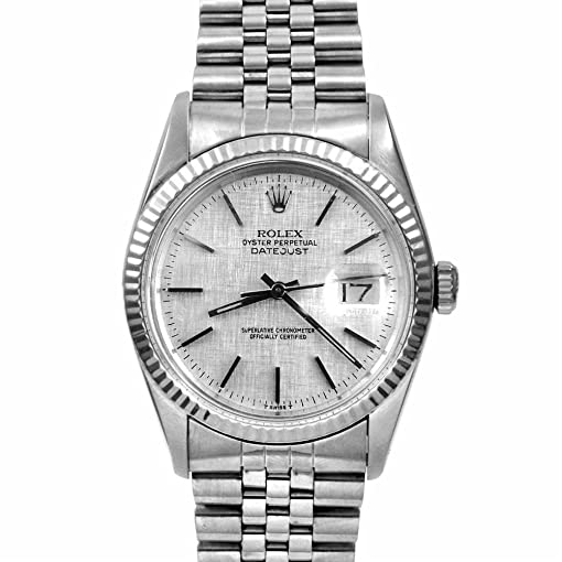 Rolex Watches For Men Silver
