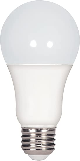 Satco S29596 Medium Light Bulb Finish Frosted White 4.38 inches