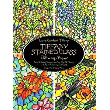 Tiffany Stained Glass Giftwrap Paper