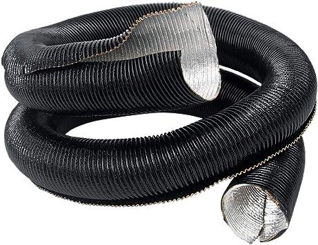 "Sundely Aluminum Metallic Sleeve Insulated Wire Hose Cover 2/"" 6Feet"