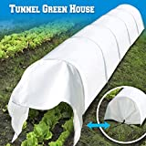BenefitUSA Breathable Tunnel Green House Mini 10' L Long Plant Gardening Sunshade Greenhouse Outdoor