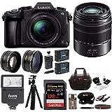 Panasonic LUMIX G85MK w/12-60mm & 45-150mm (2 Lens Kit) & 128GB Bundle
