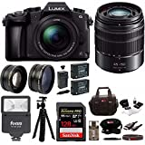 Panasonic LUMIX G85MK w/12-60mm & 45-150mm (2 Lens Kit) & 128GB Bundle