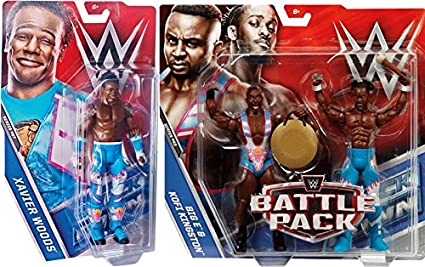 WWE KOFI KINGSTON NEW DAY 43 Elite Accessoires Série MATTEL WRESTLING FIGURE