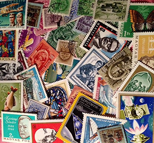 Lot of 100 Pieces Worldwide Collectible Stamp Collection
